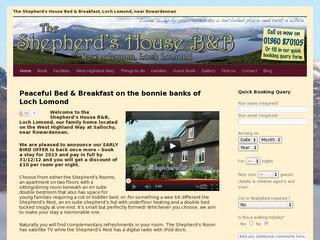 The Shepherd's House Bed & Breakfast, Loch Lomond