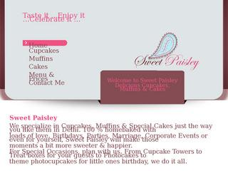 Sweet Paisley - Cupcakes Cakes & Muffins Delhi