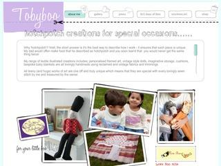 Tobyboo - handmade gifts, textile and applique