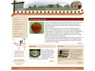 Apples, English Apples - Apple Juice - Tullens Fruit Farm