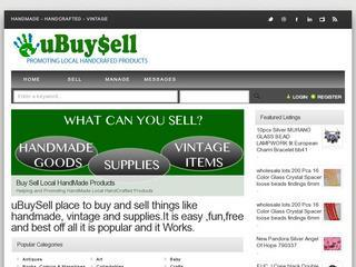 Sell handmade crafts, vintage, and supplies in Canada