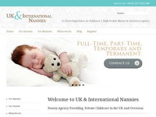UK & International Nannies