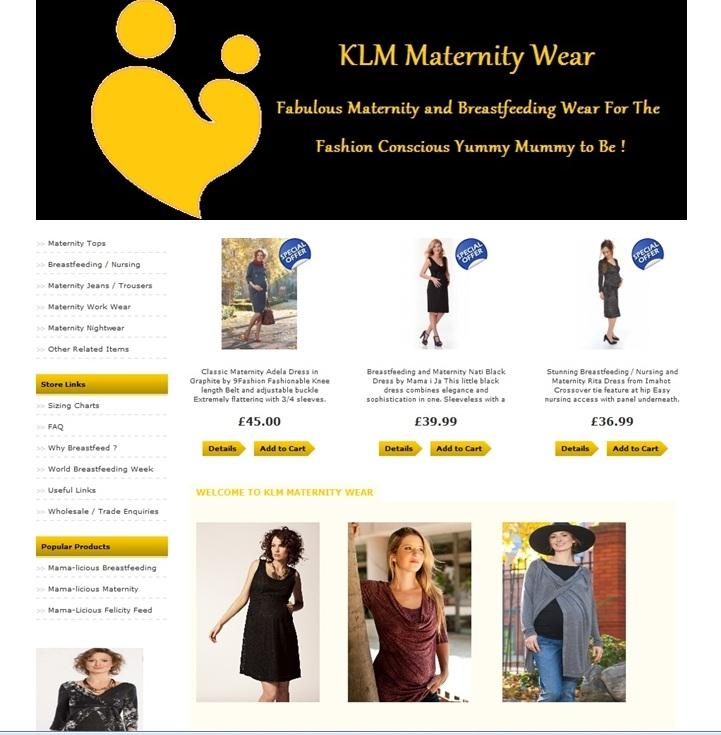 KLM Maternity Wear