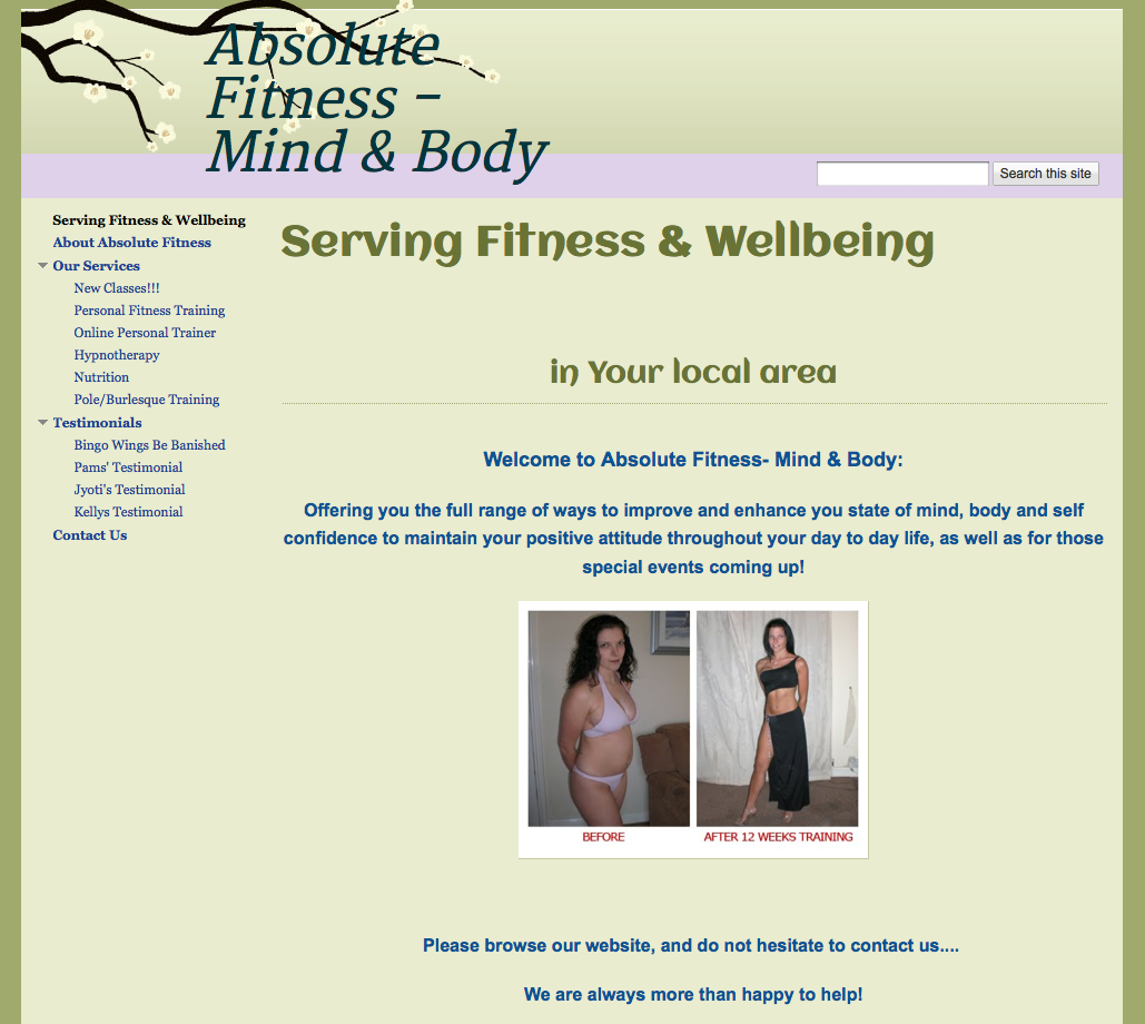 Absolute Fitness - Mind & Body