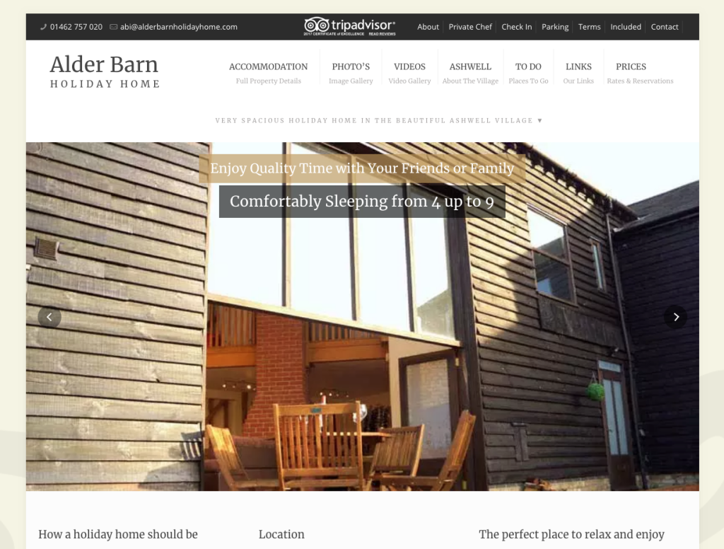 Alder Barn Holiday Home