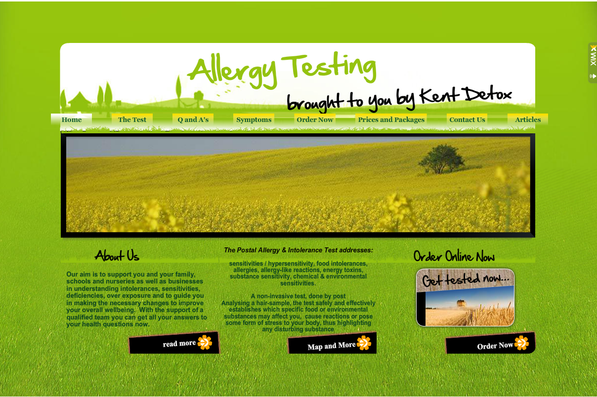 Allergy Testing for Children & Families