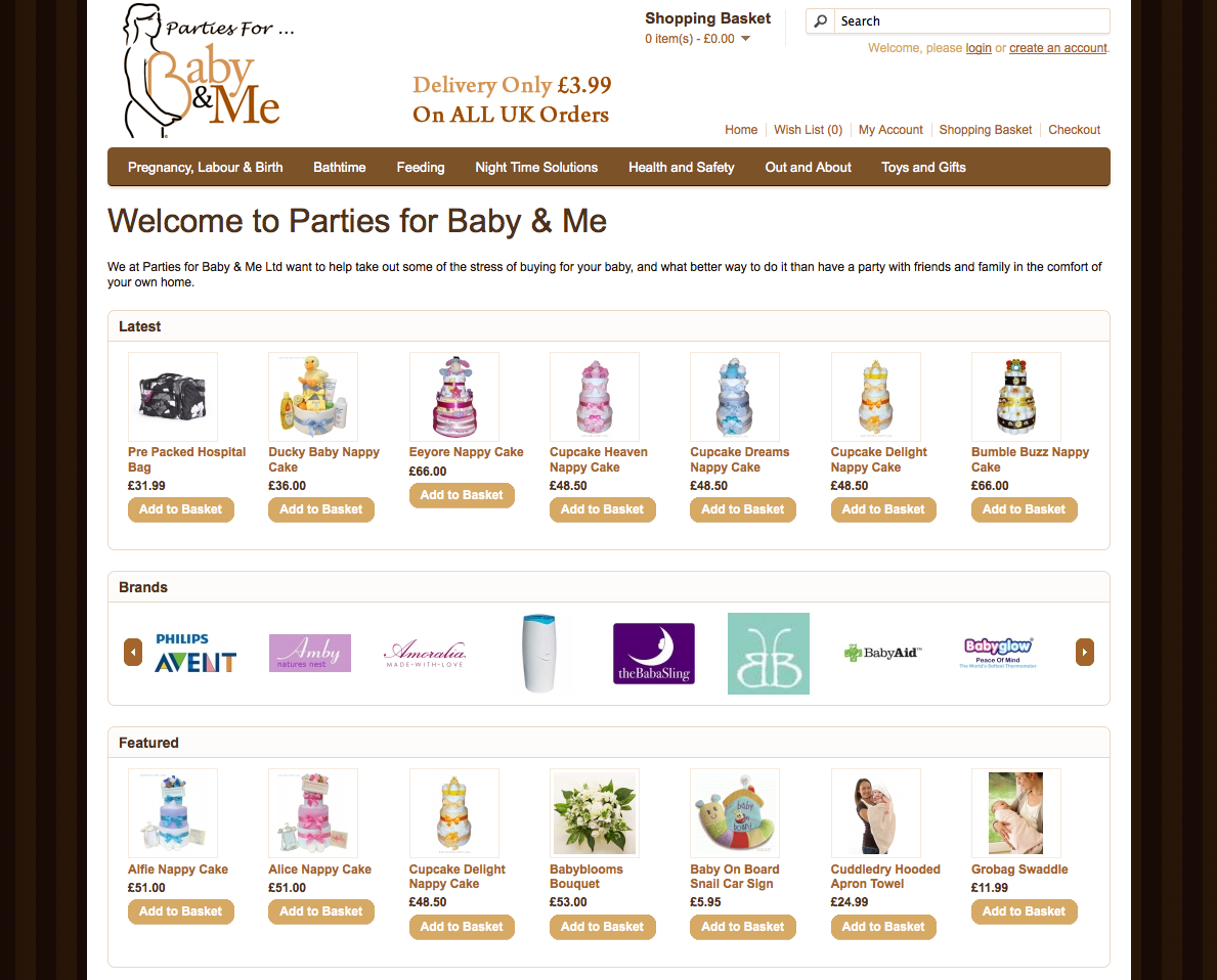 Parties for Baby & Me Ltd