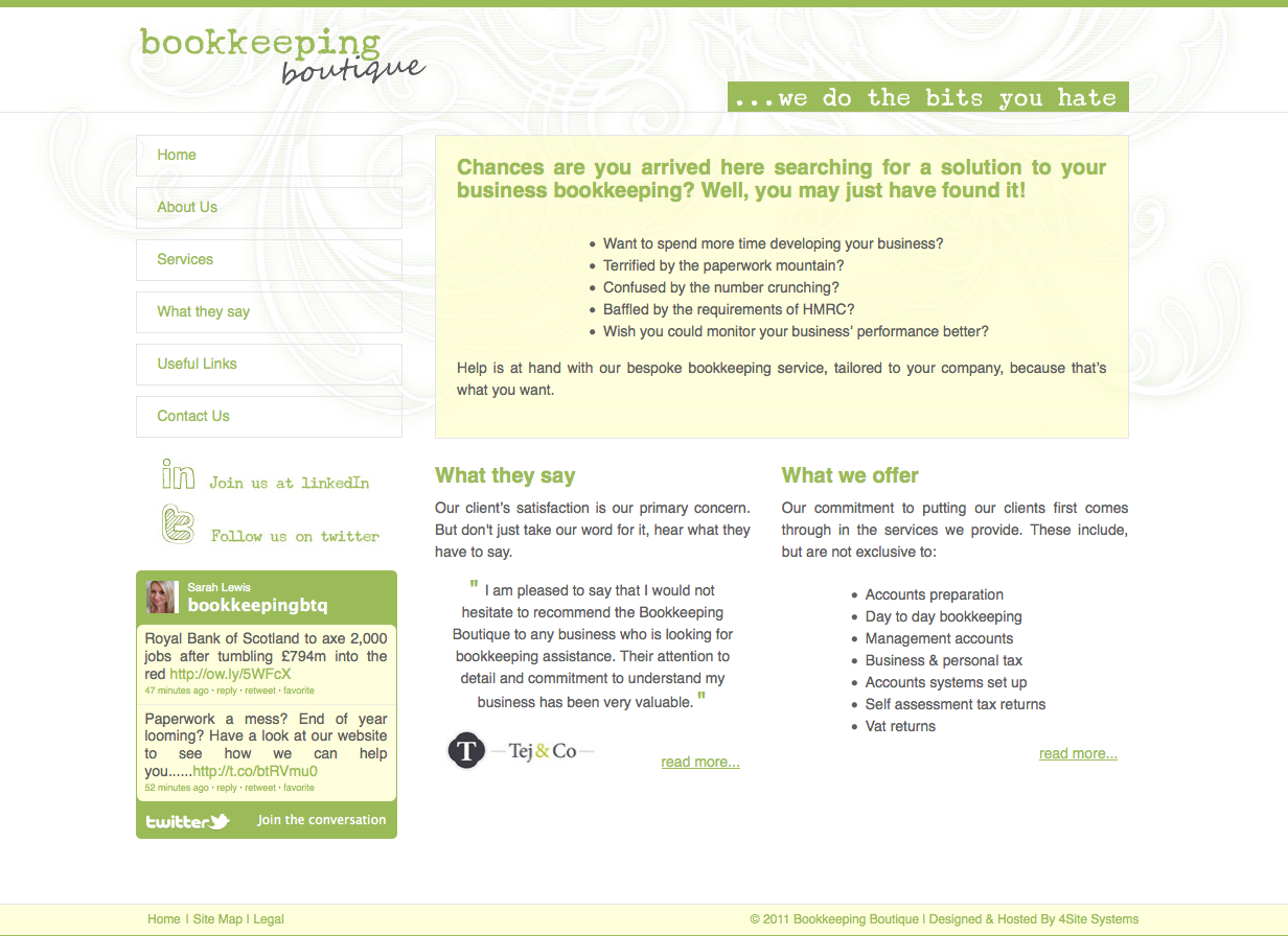 Bookkeeping Boutique