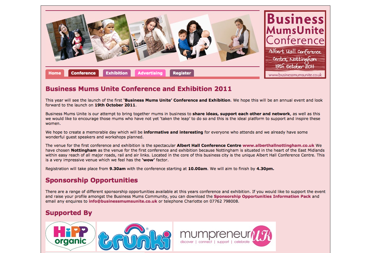 Business Mums Unite Conference