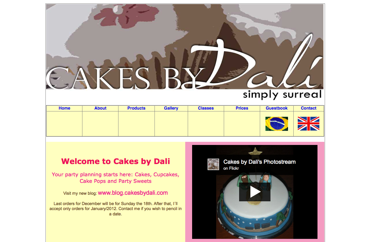 Cakes by Dali