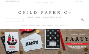 Child Paper Co Stationery