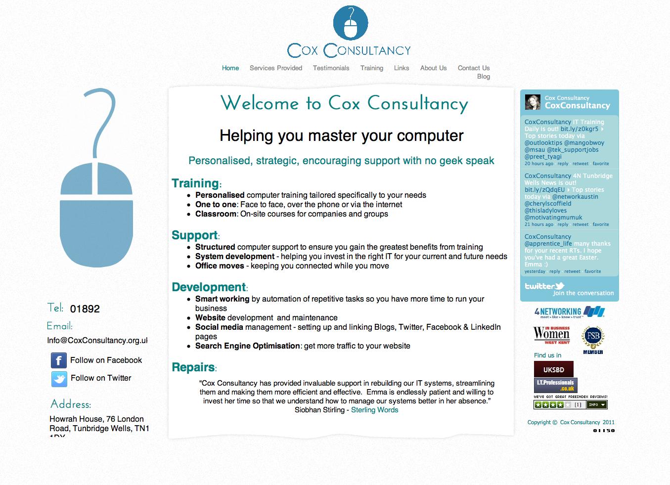 Cox Consultancy