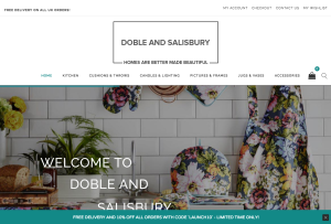 Doble and Salisbury   Home Accessories   Gifts