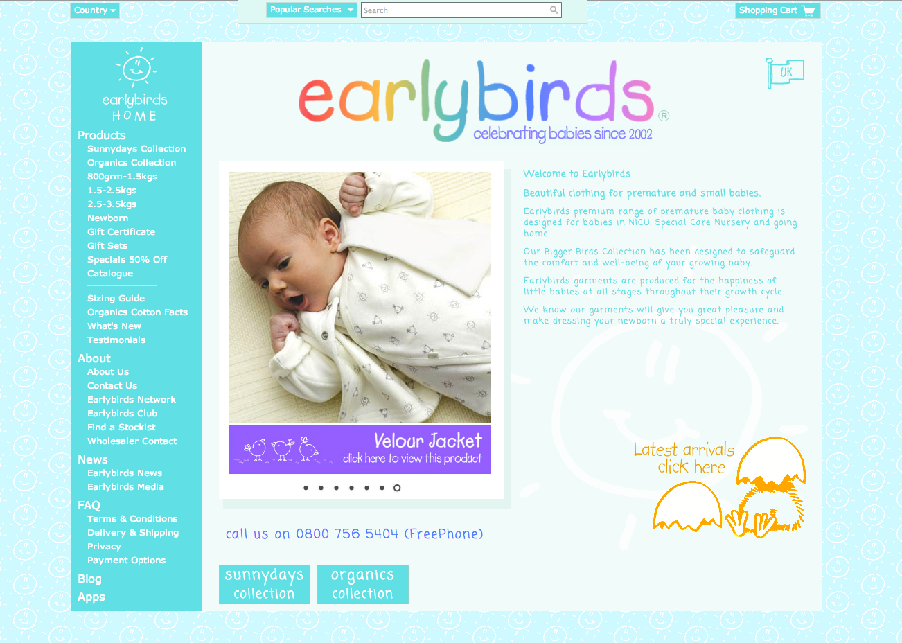 Earlybirds Premature Baby Clothes
