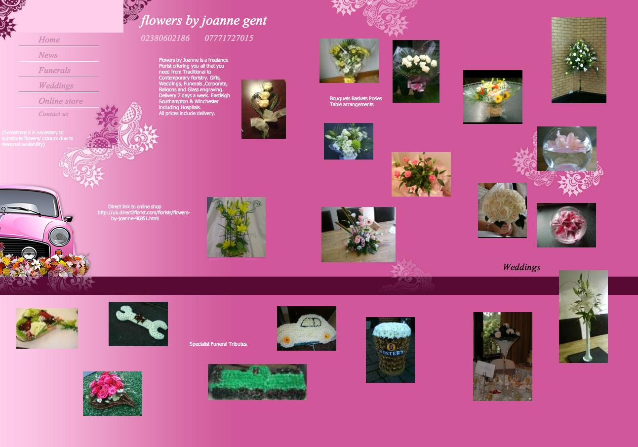Flowers by Joanne Gent