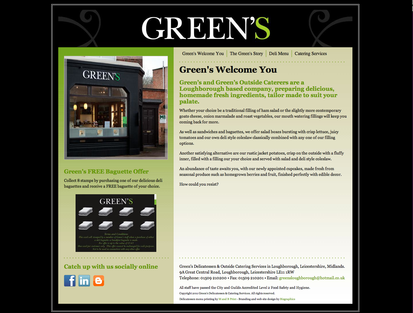 Green's Loughborough Limited