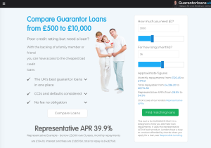 Guarantor Loans UK