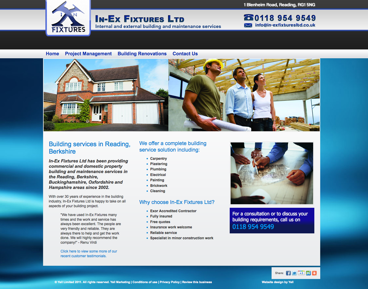 Internal and External Building Services