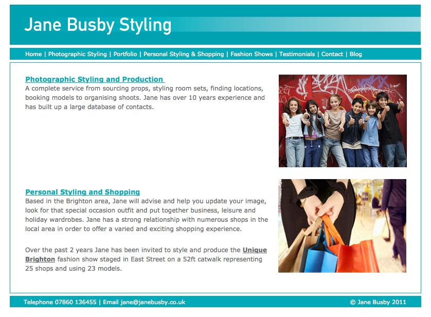 Jane Busby Styling