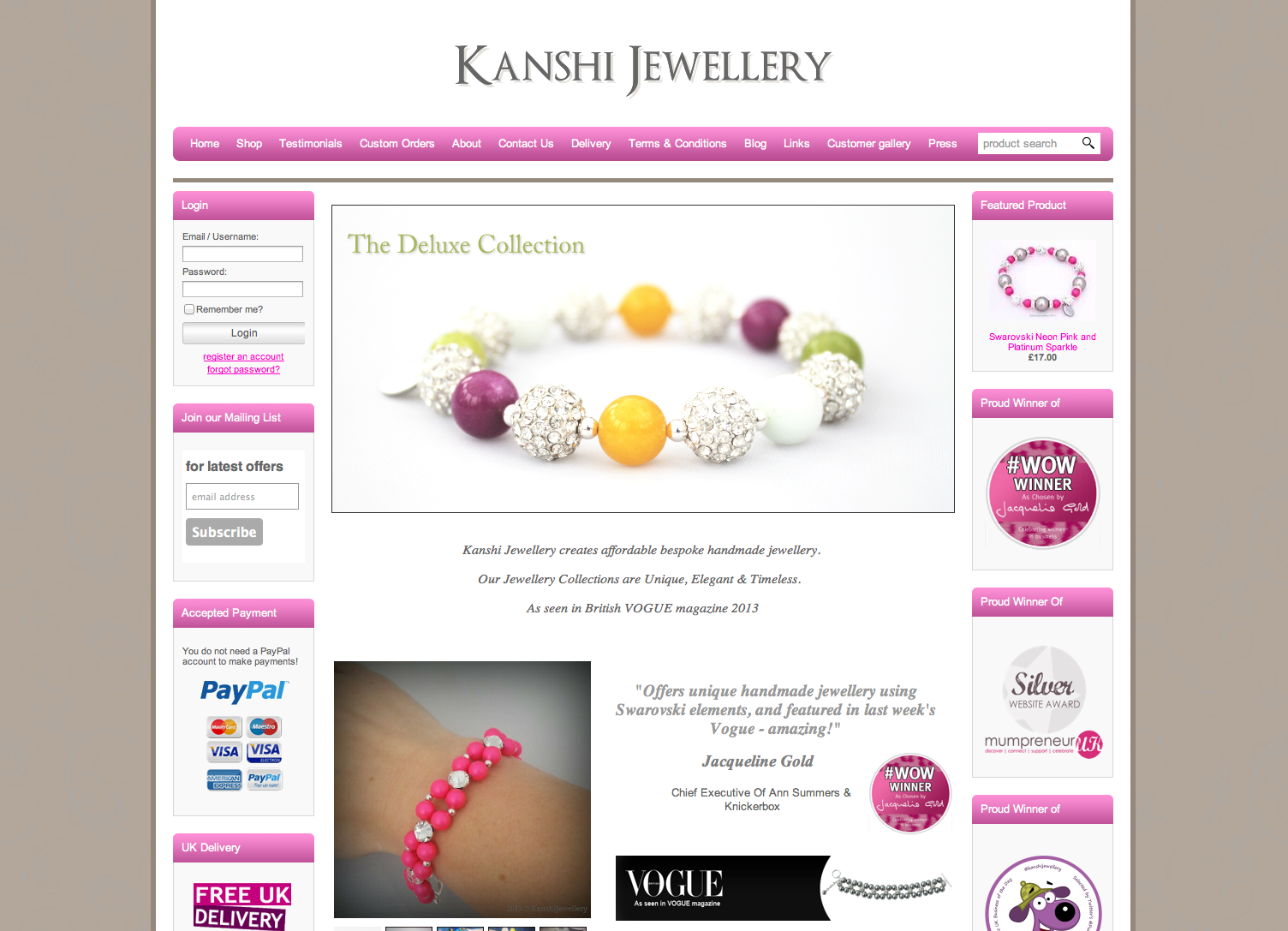 Kanshi Jewellery