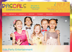 Rascals Childrens Disco