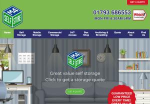 M4 Self Store - Domestic & Business Storage services