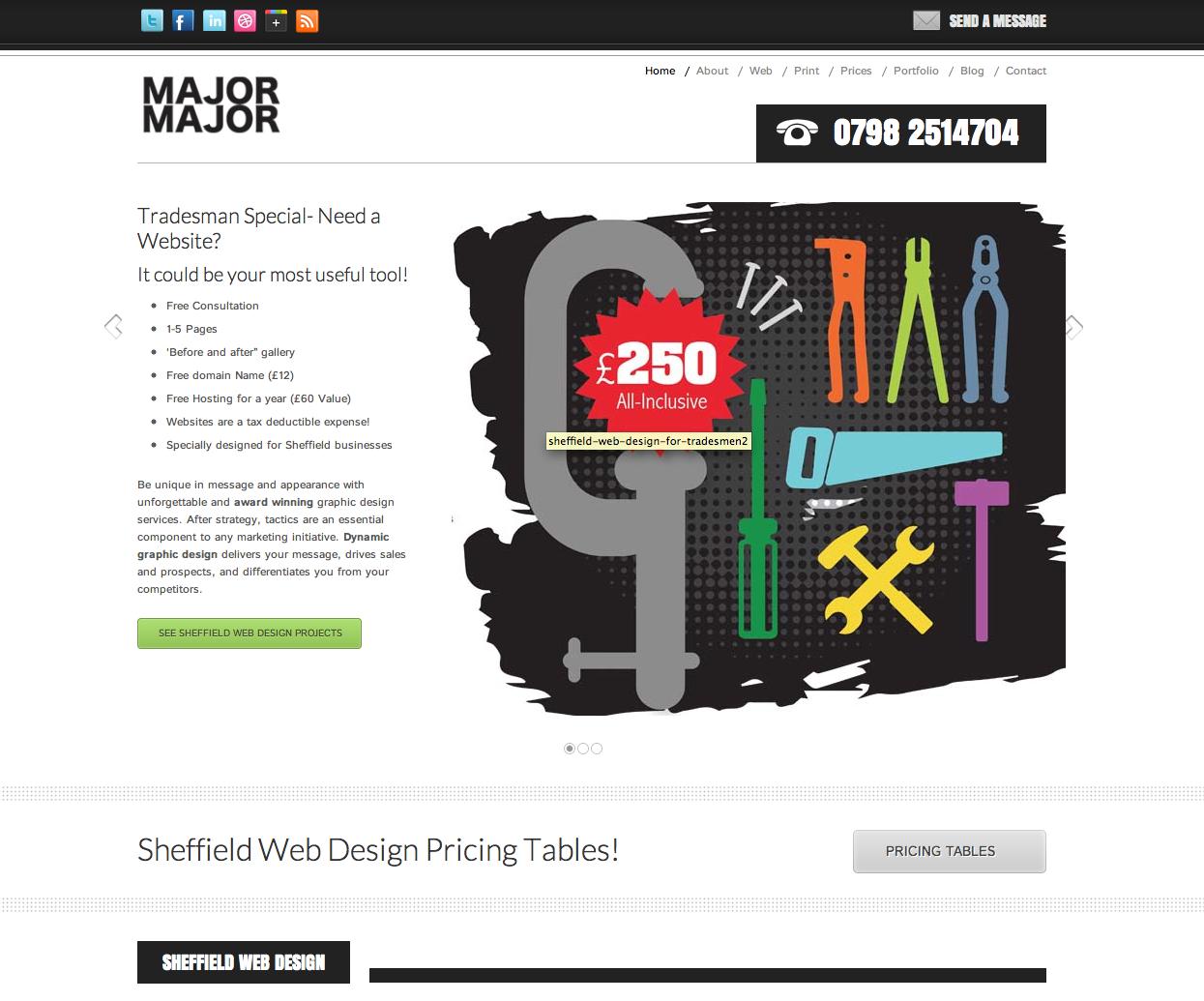 Major Major Design