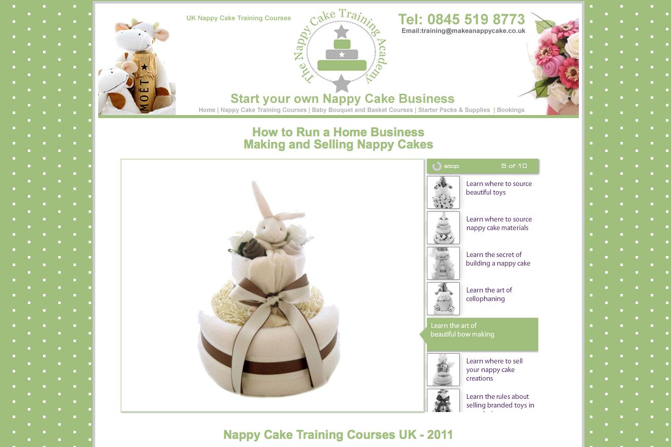 Nappy Cake Training Courses
