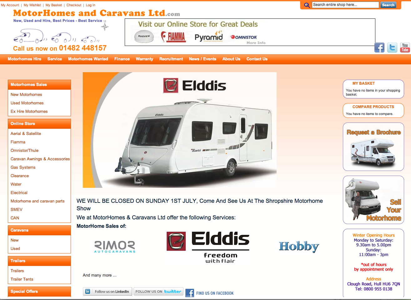 Motor Homes and Caravans Ltd.