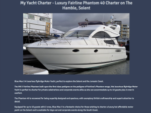 My Yacht Charter