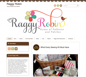 Raggy Robin Sewing Room