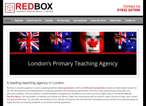 Red Box Teacher Recruitment