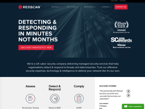 Redscan Cyber Security Limited