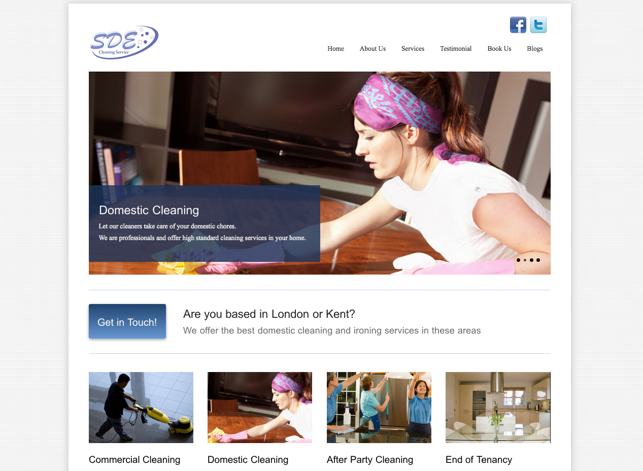 SDE Cleaning Services