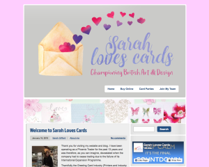 Sarah Loves Cards