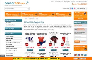 Soccerbox - Kids Football Kits