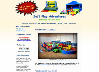 Soft Play Hire - Soft Play Adventures