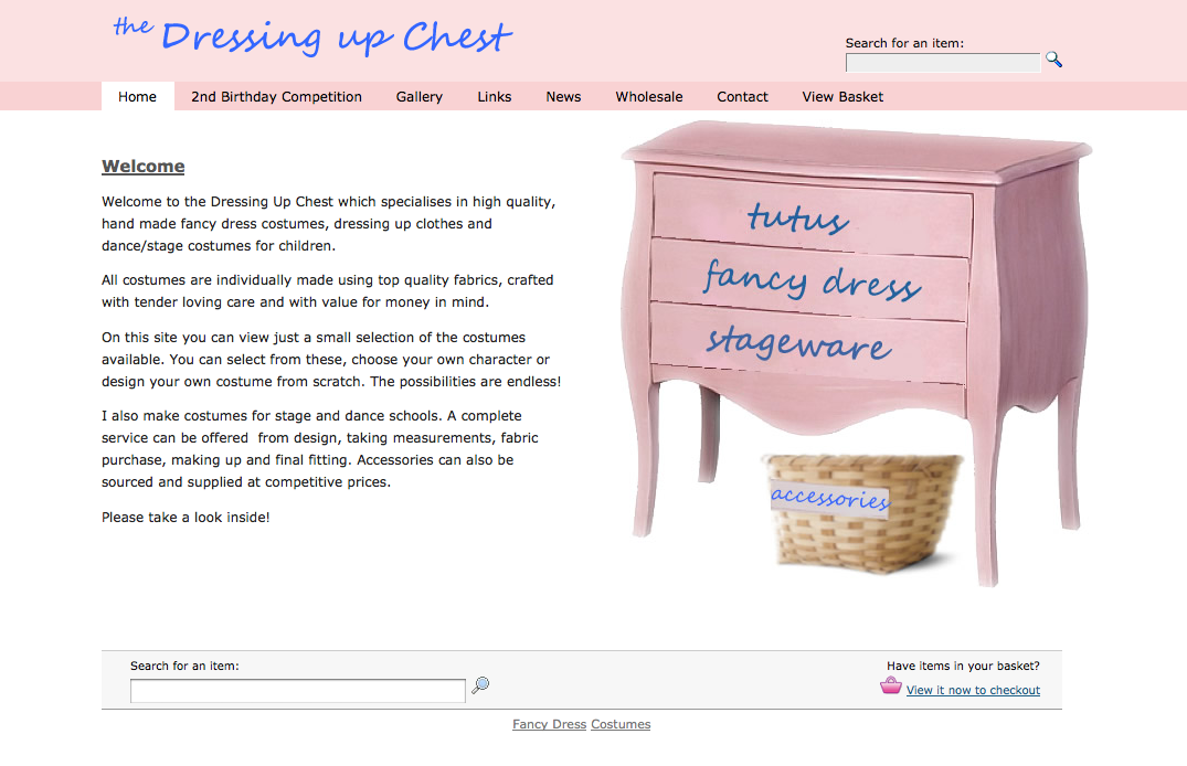 The Dressing Up Chest