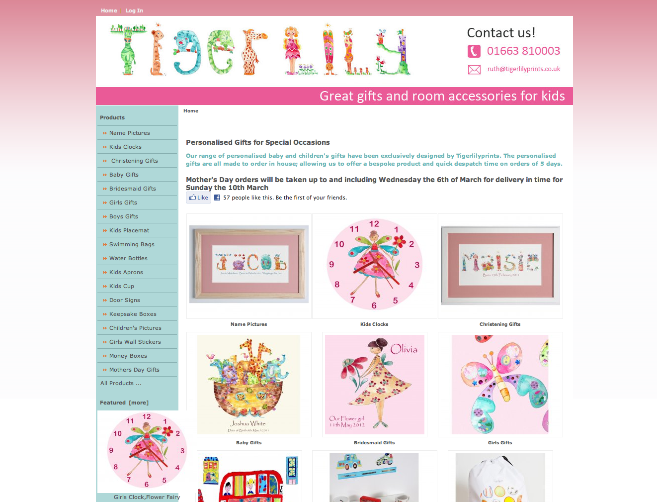 Personalised Baby and Child Gifts