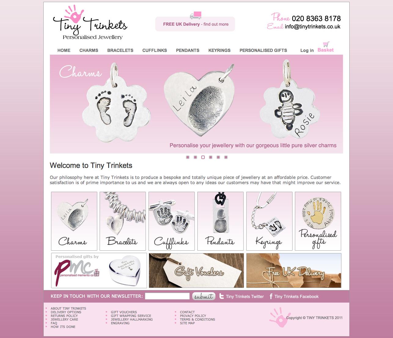 Tiny Trinkets Personalised Jewellery