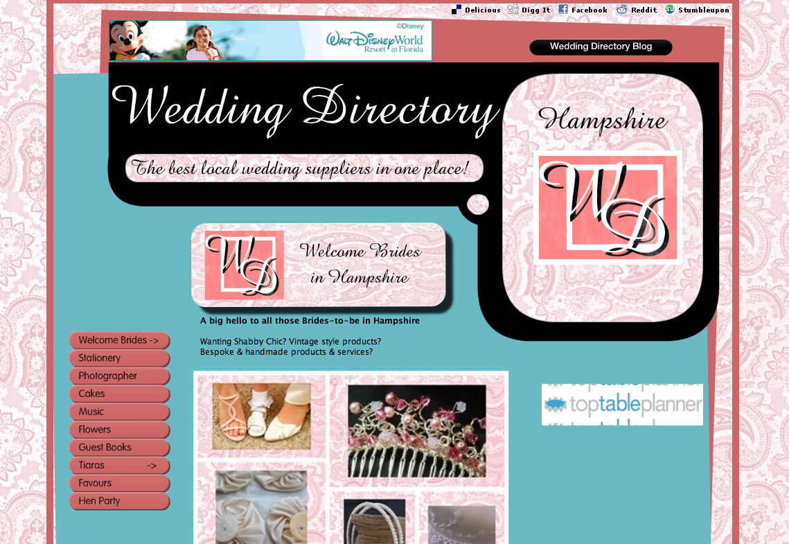Wedding Directory-Hampshire