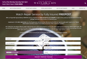 W.E. Clark & Son Watch Repairs