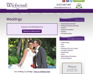 Wickwoods Wedding Venue in Sussex