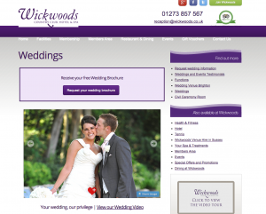 Wickwoods Wedding Venue in Sussex