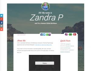Jeunesse Global - Zandra P