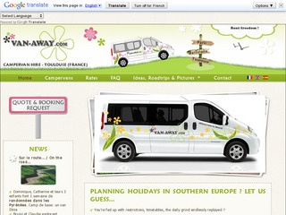 VAN-AWAY Campervan Hire France