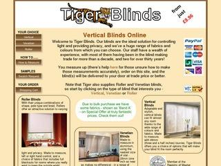 vertical blinds london