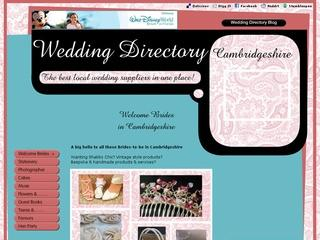 Wedding Directory-Cambridgeshire