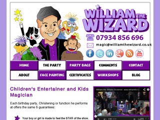 William the Wizard - Children's entertainer