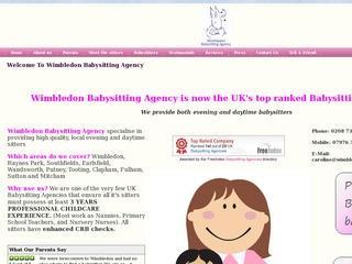 Wimbledon Babysitting Agency